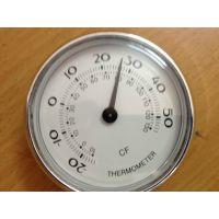 供66mm指针式机械双金属家用温度计表