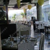 佛山家具 餐厅火锅桌 酒店钳入式火锅桌 多人位无烟餐桌