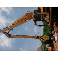 供应挖掘机三段臂 拆楼臂 多段式特殊臂订做 冶通重工