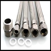厂家直销各规格不锈钢304金属软管 高压金属软管 法兰式 扳把式
