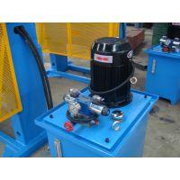 泰力数控HP-100D出口龙门液压机 框架结构振动处理龙门液压机