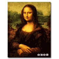 数字油画加盟代理_diy数字油画代理加盟_{自油自画}蒙娜丽莎规格40×50 图片_价格低至6元