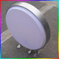 圆形吸塑灯箱亚克力广告灯箱 直径40 灯箱招牌户外灯箱灯箱制作