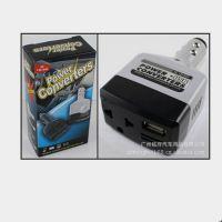 车载电源转换器 变压器 充电器 逆变器12V转220V 011c