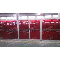 防弧光PVC隔断,遮弧帘,焊接工位隔断,机器人焊接防护
