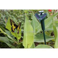 2018旅游景区点热销好卖爆款特色产太阳能蜂鸟蝴蝶电话158 25799158仿真植物太阳能工艺品