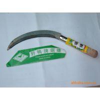 厂价供应割草,割水稻的木柄锯齿镰刀