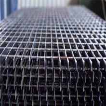 旺来操作平台格栅板 设备平台网格板 q235热镀锌钢格板