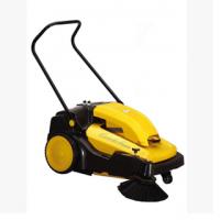 河北石家庄车间清扫地面灰尘用驰洁CJS70-1手推式电动扫地机
