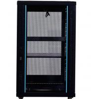 图泰6622网络机柜19英寸标准机柜1.2米22U玻璃门