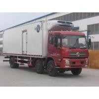 8.6米青驰牌东风天锦6*2国四2.5L14吨冷藏车