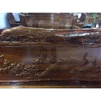 热卖凤凰宝座沙发刺猬紫檀木材名琢世家品牌