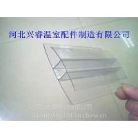 兴睿厂家供应河北邢台阳光板耐力板采光板的铝压条胶条等配件