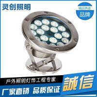 湖北武汉水底灯高光效防水好-灵创照明
