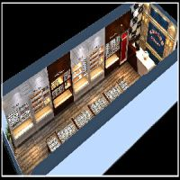 梅州眼镜店.烤漆柜台工厂.店面装修一条龙服务.创视觉装修公司
