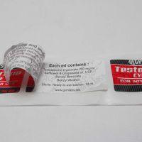 东莞森盛 双层不干胶标签 可定制不干胶标签