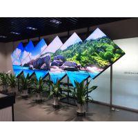 旅游城市九寨沟液晶拼接屏 55寸三星拼接电视墙热售 3.5mm 拼缝拼接单元