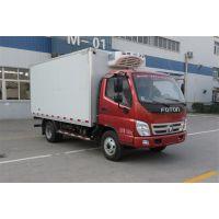 福田牌国五4米冷藏车 3.7排量 冷藏车直销价格
