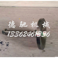 dechi重型固定脚杯浙江厂家直销不锈钢带定位孔固定脚杯底盘50mm地脚