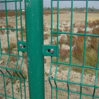 万泰丝网厂家现货销售双边丝护栏 道路围网 园林防护网