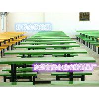 供应大食堂餐桌椅 八人连体餐桌椅批发 价格实惠 安全可靠
