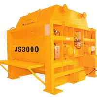 供应郑州鑫璐通双卧轴强制式JS300混凝土搅拌机
