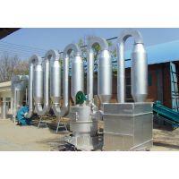 豫太锯末木屑气流烘干机 玉米秸秆树叶管道烘干机 喷雾式滚筒干燥机