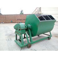陕西汉中郑科JW350/500普通卧式砂浆搅拌机结构实用紧凑