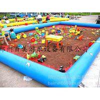 广东江门儿童沙池乐园,宝宝玩沙的池,新款充气沙池池子价格
