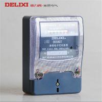 德力西电表 dds607 220v5(20)A家用单相电度表 电子式电能表批发
