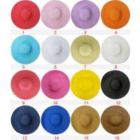 2015 新款单色空顶女士遮阳帽大檐帽 厂家直销 外贸出口 (可折叠)