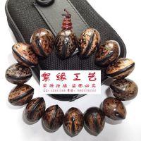 厂家批发木鱼菩提佛珠手链 木鱼果菩提子手链 大亨佩带之物 手串