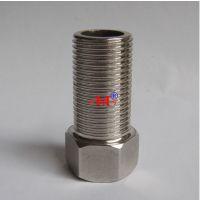加长 4分DN15 不锈钢内外丝直接 内外牙直接 水管铜接头 延长接头