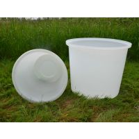 M-500L塑料圆桶 泡菜腌制食品级大圆桶