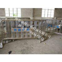 【行情】领路制作活动不锈钢铁马_固定铁马护栏生产厂家电话15813447843
