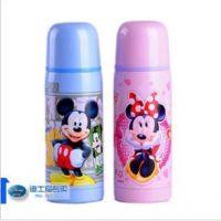 正品迪士尼真空不锈钢保温水杯/瓶3131A男童女儿童通用350ML