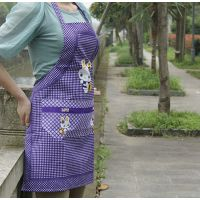 妈妈围裙 厨房用品 条纹时尚 10元店进货货源批发