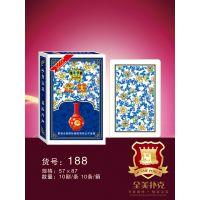 专业定制广告宣传礼品扑克 游戏卡牌 动漫卡牌广东全美 铂金188