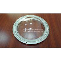 东莞诚卓光电厂家定制光学凹凸透镜,均匀厚度玻璃灯罩