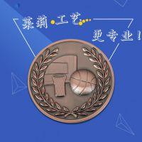 金属3d立体奖牌勋章定做,高档胸章厂家,莱莉工艺