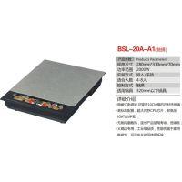 堡斯龙BSL-08A-A1触摸暗装商用电磁炉2000W 280*330mm银色
