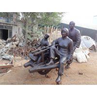 (图文)民俗铜雕塑,古代人物,明清人物铜雕,曲阳雕塑,雕塑公司,铸铜材质