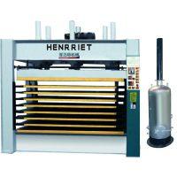 1200mmX2500mmX50吨八层热压机 钢木门压平定型 门厚度定位器 锅炉加热
