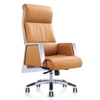 【西安办公桌】真皮班椅时尚大气推荐陕西欧乐办公家具4006608869