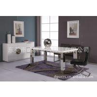 M032 现代 简约 不锈钢餐台 餐桌