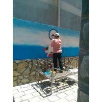 上海云绘艺术手绘墙体写字,墙体广告