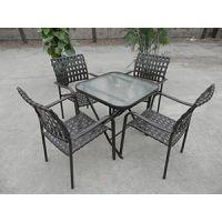 大连户外家具|户外休闲桌椅|藤编桌椅|花园桌椅