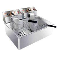 汇利HY-83EX单缸双筛(电热)炸炉电炸锅油炸炉商用炸薯条炸鸡设备