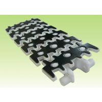 83柔性钢顶塑料链板 83柔性钢顶链板