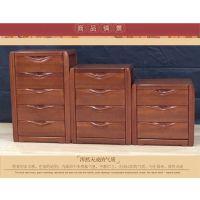 美希恩实木斗柜简约现代储物柜中式金丝木三四五斗柜子